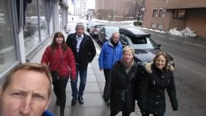 Bergenslaget i Sandefjords gater